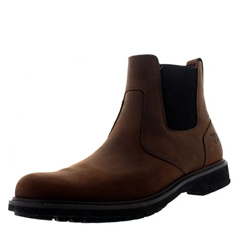 mens leather chelsea boots uk mens timberland earthkeepers stormbuck chelsea boot