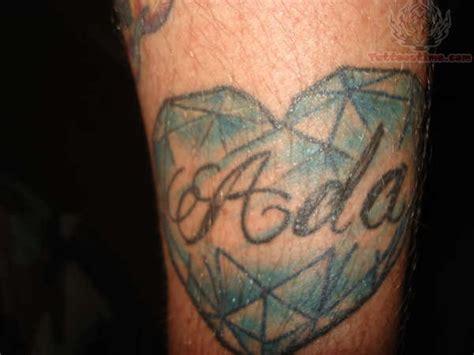 tattoo diamond heart diamond heart tattoo