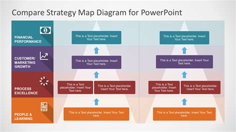diagram strategy strategy map powerpoint diagram