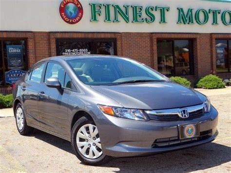 Honda Warranty 2012 by Buy Used 2012 12 Honda Civic Lx Sedan Warranty Eco Assist