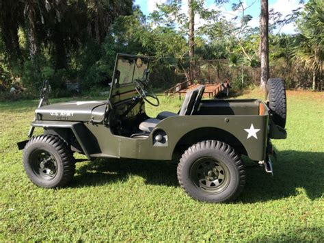 1951 willys jeep value 1951 jeep willys m38 classic jeep other 1951 for sale