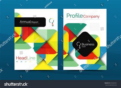 company profile design template vector business company profile brochure template vector stock
