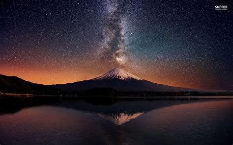japanese wallpaper for mac mount fuji japan wallpaper gt beautiful night photo of