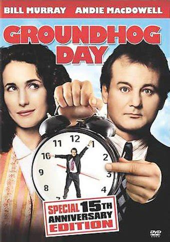 groundhog day runtime groundhog day 15th anniversary edition dvd 1993