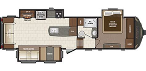 sprinter fifth wheel floor plans new 2017 keystone sprinter 298fwrls fifth wheel for sale