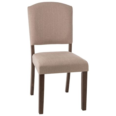 parson dining chair with upholstered seat by hillsdale