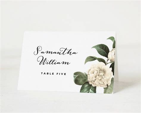 15 Must See Place Card Template Pins Place Card Table Printable Place Cards And Place Cards Bridal Shower Place Cards Templates