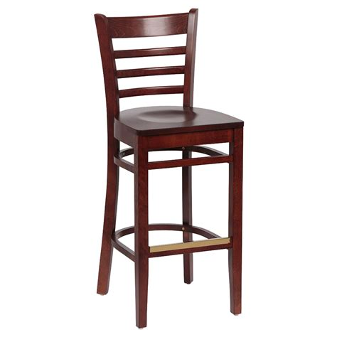 royal industries bar stools royal industries roy 8002 w ladder back bar stool w