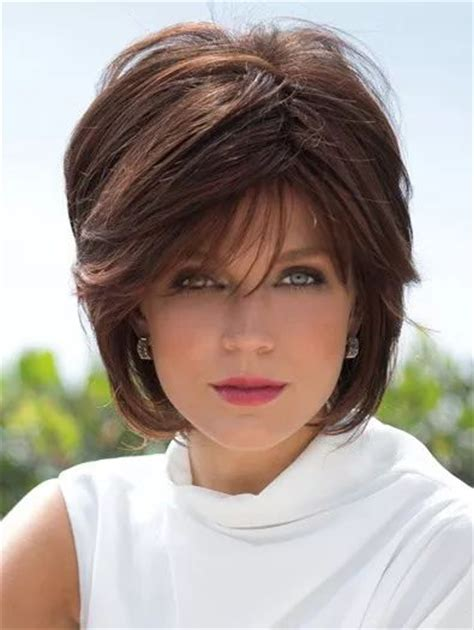 pictures of long whisper bangs 1000 ideas about layered bob with bangs on pinterest