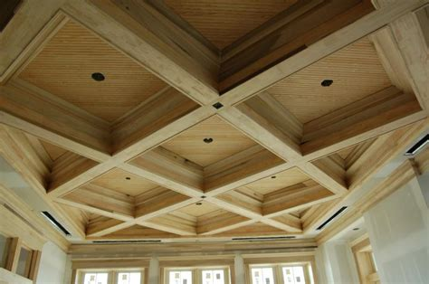 Images Of Coffered Ceilings by Toronto Patterned Coffered Ceiling Installation Codyausmus