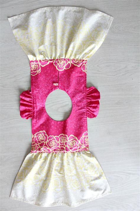 clothes pattern making tutorial little girls flutter sleeve dress sewing tutorial sew