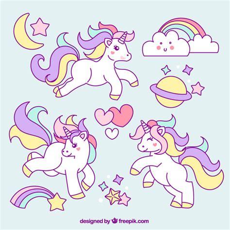 ver imagenes unicornios esbo 231 os de unic 243 rnio com elementos encantadores baixar