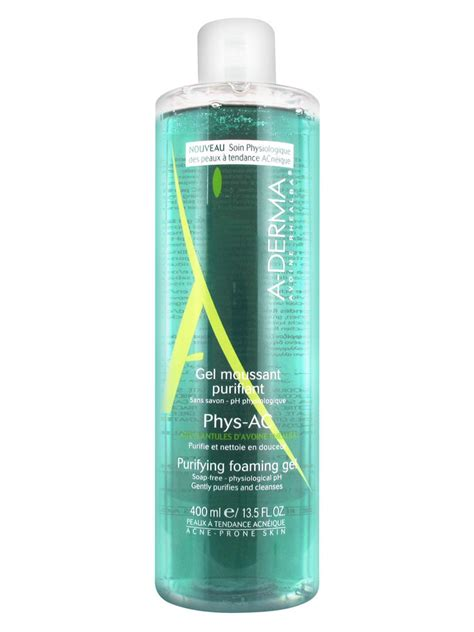 Ac Gel aderma phys ac purifying foaming gel 400ml buy at low