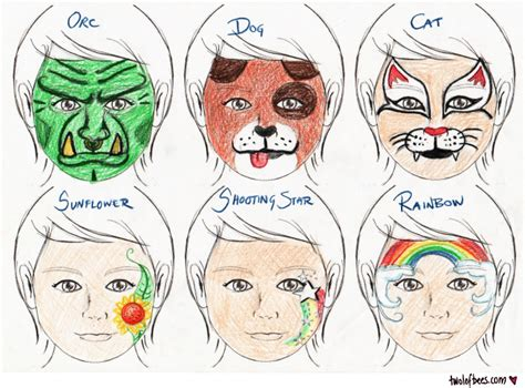 templates for face painting face painting template google zoeken verkleden