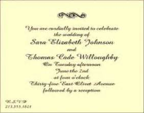 post wedding reception invitation exles post wedding reception invitation wording badbrya