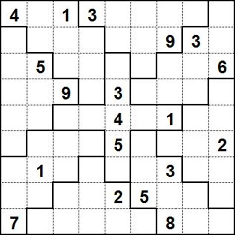 printable sudoku jigsaw puzzles autonomous source jigsaw sudoku