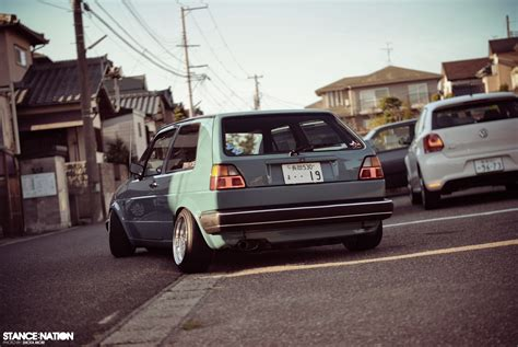 slammed volkswagen golf vw mk2 slammed www imgkid com the image kid has it