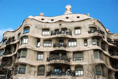 barcelona casa mila zdj苹cia