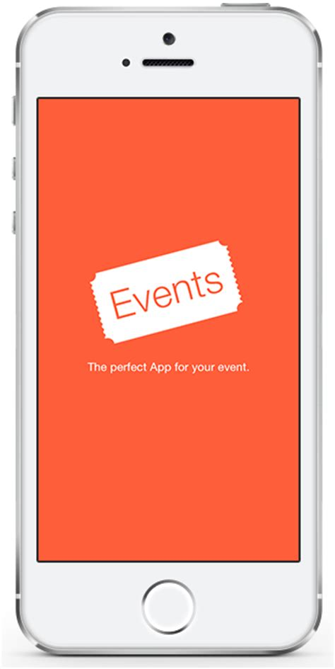 Ios Splash Screen Template Psd by Event App Template Ios With Backend