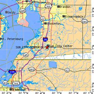 map of sun city florida sun city center florida fl population data races