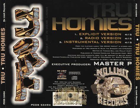 tru homies tru tru homies cds rap music guide