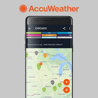 accuweather android app launching new interactive weather app us daily review