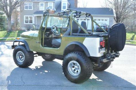 Quadra Trac Jeep Sell Used 1978 Jeep Cj 7 V8 Fuel Injection