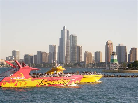 speed dog boat navy pier navy pier and sea dog travelling locally and internationally