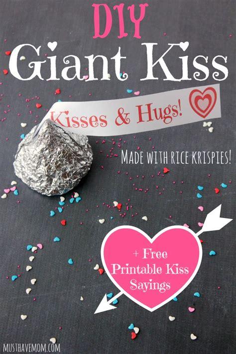 printable hershey kisses tags diy giant kiss made with rice krispies free printable