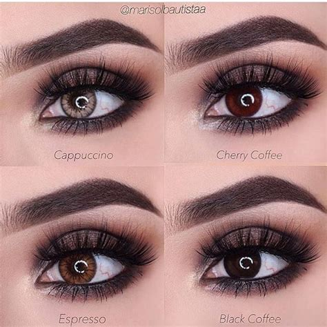 Softlens Sweety Cherry Brown 62 best contact lenses images on eye contacts