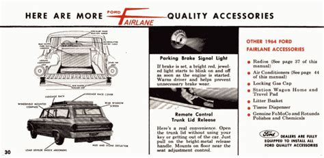 directory index ford 1964 ford 1964 ford fairlane owners manual