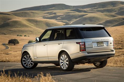 range rover rear 2013 land rover range rover supercharged rear view photo 20