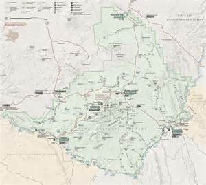 map of big bend chisos basin map pdf pictures to pin on pinsdaddy