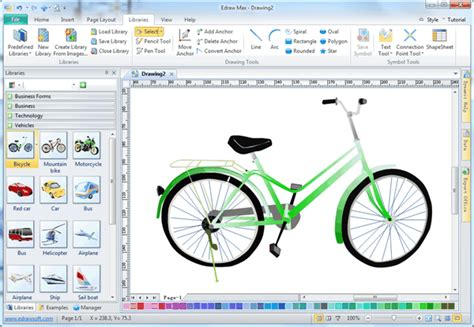 drawing program lightweight vector drawing program