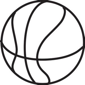 basketball clipart black and white basketball black and white clipart