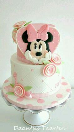 Kid Mickey Ribbon Pink pretty in pink minnie mouse cake unique birthday cakes the ribbon happy
