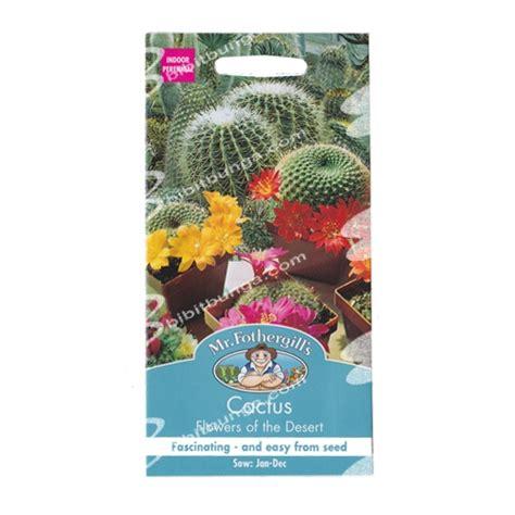Biji Benih Tanaman Bunga True Desert benih mr fothergills cactus flowers of the desert 30