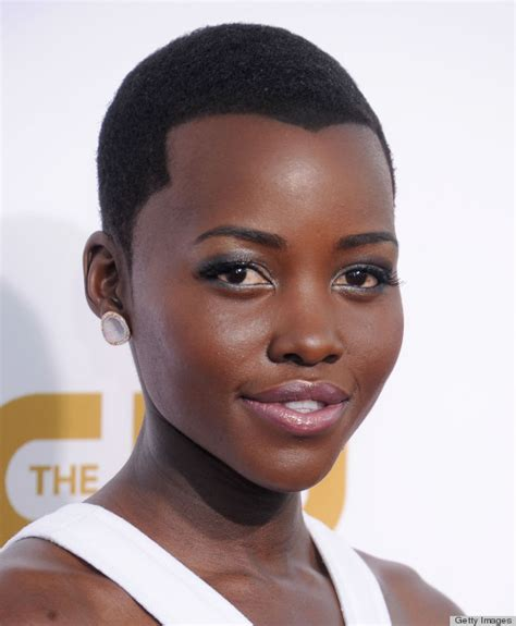 how do black men cut their widow peak hairgoals this is why lupita nyong o is queen treats