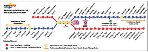 Malaysia Ktm Schedule Ktm Komuter Timetable 10 October 2015 Railtravel Station