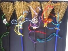 sacred space utterly wicked witch ideas for halloween yule decorations ribbon stars my witchy ways pinterest