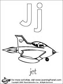 letter j coloring page the letter j lesson