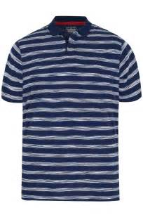 Polo Bb Stripe Navy Blue badrhino navy blue stripe polo shirt large l to 6xl