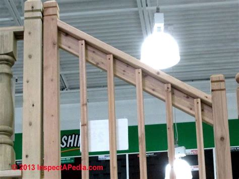 Building A Banister by Deck Guardrail Or Stair Railing Baluster Installation