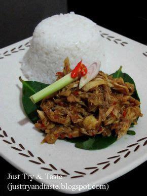 resep ayam suwir pedas ala bali ayam sisit bali makan
