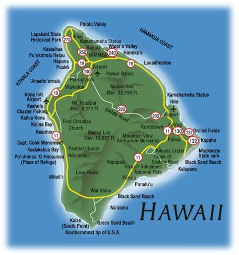 map of hi maps of dallas big island hawaii map