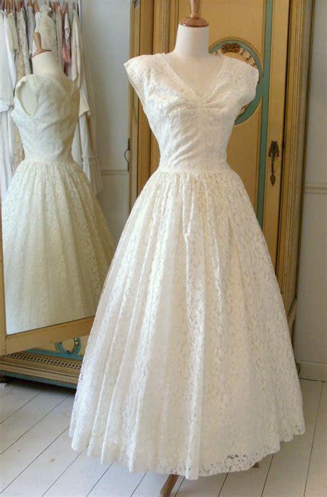 Vintage 1950s Wedding Dresses by 1950s Wedding Dresses Abigail S Vintage Bridal