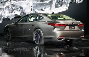 Lexus Ls All New 2018 Lexus Ls 500 Gets A Turbo V6 Ken Shaw