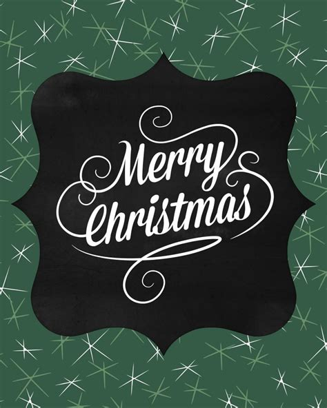 christmas art print printables  sweetest digs