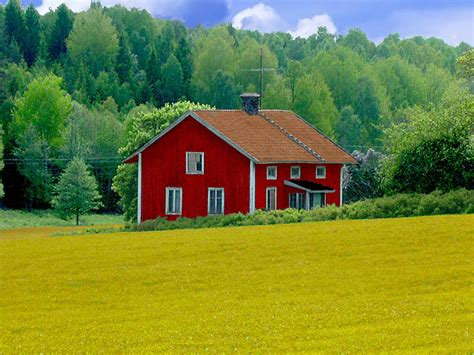 house landscape abandoned wooden house in swedish landscape flickr