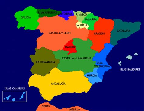 5 themes of geography spain todo sobre espa 241 a las regiones